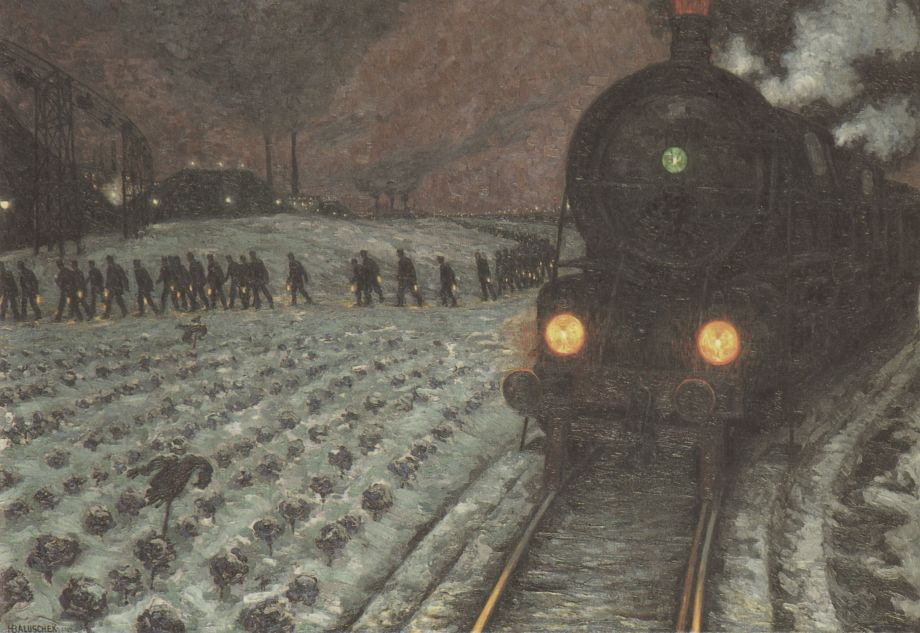 Hans_Baluschek_Zur_Grube_1914