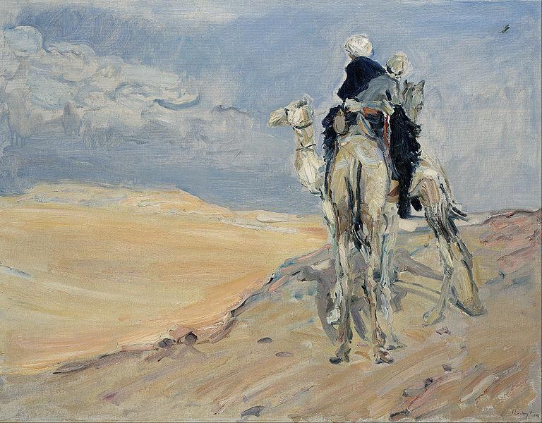 Max_Slevogt_Sandsturm_in_der_Libyschen_Wüste_1914