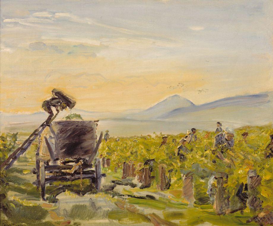 Max Slevogt Kleine Weinernte 1913