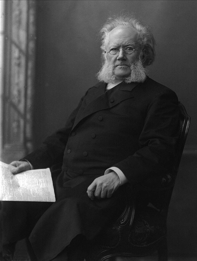 Henrik Ibsen, Porträt von Gustav Borgen, 1898